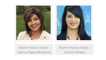 Karima Bapoo-Mohamed, Danisha Bhaloo, to receive Alumni awards from University of Alberta