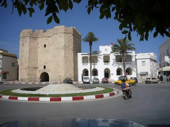 Sqifa al-Kahla gatehouse in Mahdiyya. Photo Inspiration: Gasmi Raouf