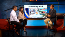 CBS Los Angeles: Pervez and Jasmine Delawala Interviewed for AKF USA PartnershipsInAction Walk/Run 2014