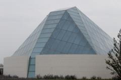 A close up of the Ismaili Centre, Toronto