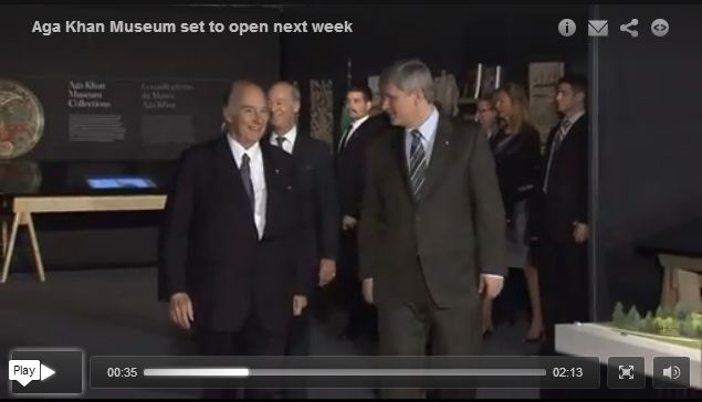 Aga Khan Museum set to open
