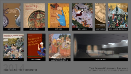 The Road to Toronto (Collaborative): The vision and rationale behind the Aga Khan Museum's pre-launch exhibitions