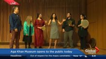 Kris Reyes of Global News visits the Aga Khan Museum