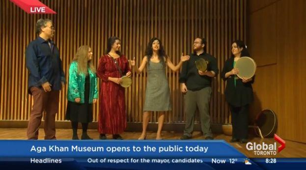 Kris Reyes of Global News visits the Aga Khan Museum