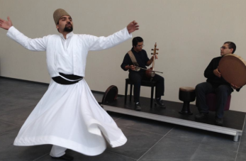 AKM whirling dervesh