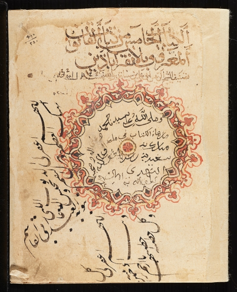 Qanun [Fi'l-‐Tibb] (Canon [Of Medicine]), Volume 5 Ibn Sina (d. 1037) Iran or Iraq, 1052 Opaque watercolor and ink on paper Folio: 21.2 x 16.4 cm AKM510 (image: Ismailimail/Aga Khan Museum)