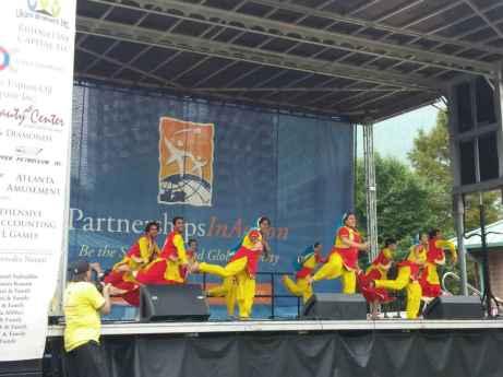 Emory Karma (Punjabi Bhangra dance)