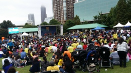 Atlanta's post-walk entertainment program keeping more than 5,500 people glued to the stage