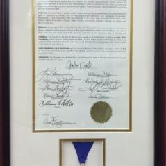 Birmingham Partnership Walk 2014 - Honorary Citizen Medal