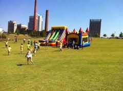 Kids having unlimited fun