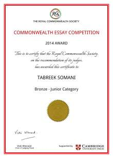certificate ts