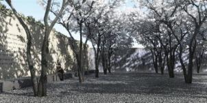 Constellations - Aga Khan Park, Toronto – Echoes of Paradise - Springtime, image courtesy of Imara Wynford Drive
