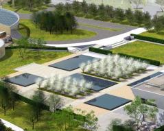 Aga Khan Park, Toronto – The unifying Park of the Aga Khan Museum and Ismaili Centre, Toronto (Image courtesy of Imara Wynford Drive)
