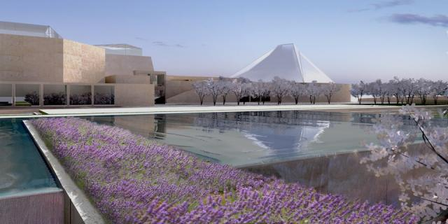Constellations - Retrospective - Artistic Renderings - Ismaili Centre and Park