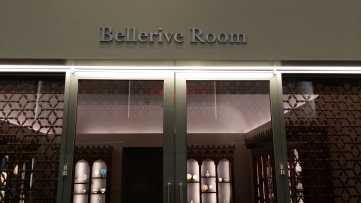 IM-Bellerive Room - Entrance reflecting the Jali pattern of the coutyrad glass walls