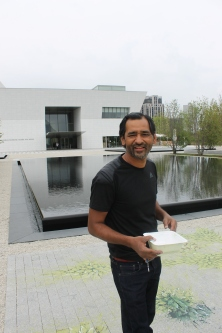 Honored to be at the Aga Khan Museum (AKM) (Image: Ismailimail/AM)