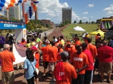 Birmingham Partnership Walk 2014 kicks off