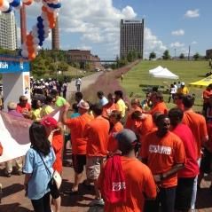 Birmingham Partnership Walk 2014 kicks off