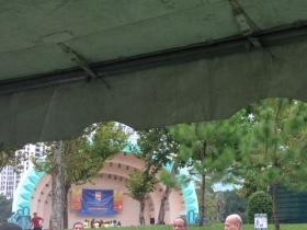 Pre-walk Preparations: Orlando PartnershipsInAction Walk Kicks Off at Lake Eola Park