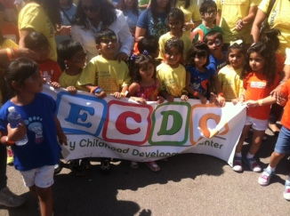 Early Childhood Development Center & Kids Supporting Birmingham PartnershipsInAction Walk 2014