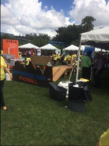 Supporting Orlando PartnershipsInAction Walk at Lake Eola Park