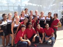 Tashan Dance Group assimilates with Spain Park High School dance team!