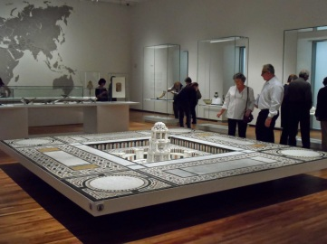 Fountain from Egypt - Center piece of the temporary exhibit (image: Ismailimail/Sherali Maherali)