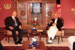 His Highness the Aga Khan with Dr. Asraf Ghani Ahmadzai The New Elected President of Islamic Republic of Afghanistan