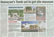 Humayun's Tomb set to get site museum - The Times of India