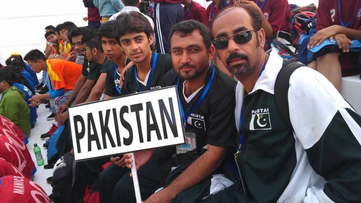 Sarim Charania: Runners-up in 2nd South Asian Roll Ball Championship