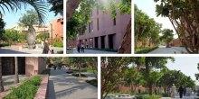 The Aamir Kanji Gardens - Aga Khan University, Karachi