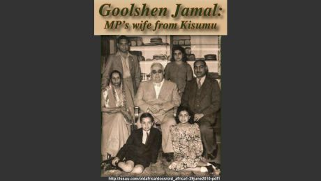 Goolshen Jamal: MPs wife from Kisumu