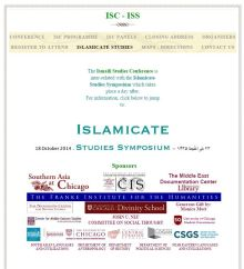 ISC - Islamicate Studies Symposium