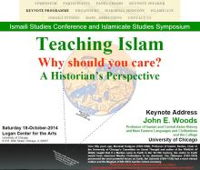 ISC - Ismaili Studies Conference and Islamicate Studies Symposium - Teaching Islam
