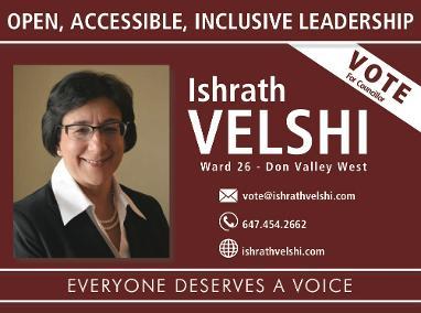 Israt Velshi