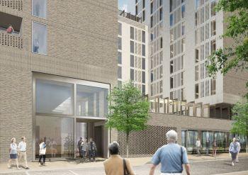AKU Student Residential Building, King's Cross, London