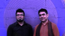 Sitarist Mohamed Assani & up Sidhu at Aga Khan Museum, Toronto