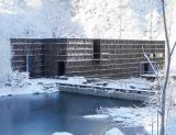 Liyuan library in winter (Canadian Architect)