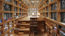 Liyuan library interior (Canadian Architect)