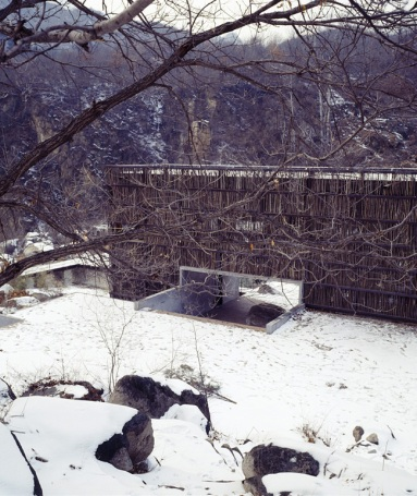 Liyuan library in winter. (Image Courtesy RAIC)