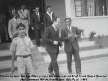 Mawlana Hazar Imam visited Aga Khan Primary School Tanga, in 1966