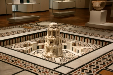 One of the Islamic artefact from Cairo displayed at the Aga Khan Museum (Image Mansoor Ladha)