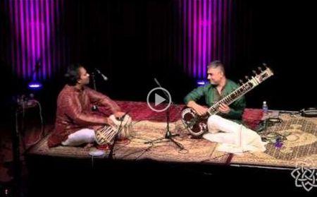 Sitar & Tabla performance at the Aga Khan Museum Auditorium, Toronto