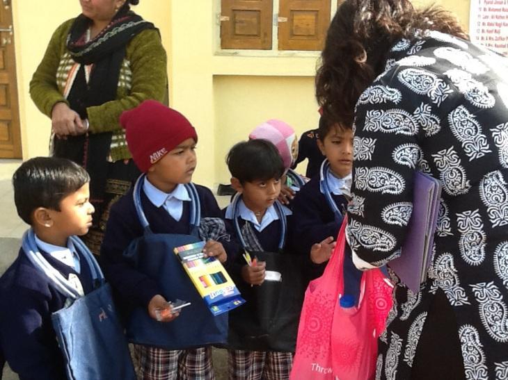 Naz Allidina - Our philanthropic mission begins in Rajkot