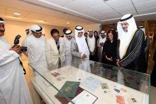 Noor Ali Rashid - Gulf Mail - VIPs around counter