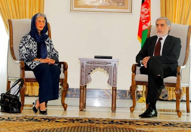 Aga Khan Development Network's Resident Representative Nurjehan Mawani met with CEO Abdullah Abdullah, reaffirms support to new government