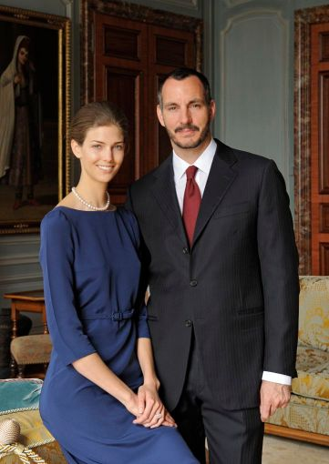 PR - 6 - Prince Rahim Aga Khan and his fiance Kendra Spears pose on April 15, 2013 in France. Photo by Gary OtteThe Ismaili via Getty Images
