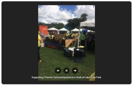 2,200+ People raised more than $210,000 at Orlando's PartnershipsInAction Walk
