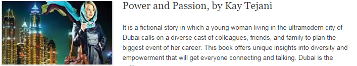 Power and Passion, by Kay Tejani