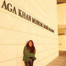 Bollywood Singer/Actor Shweta Pandit at Aga Khan Museum